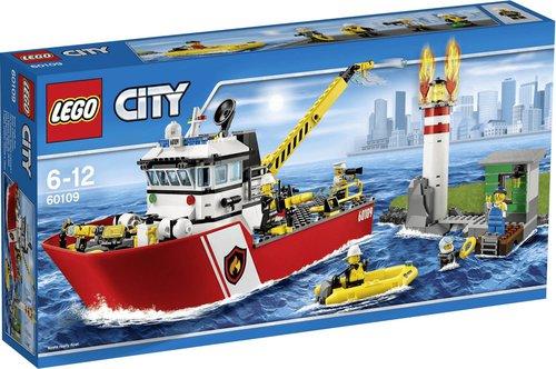 LEGO City Feuerwehrschiff (60109)