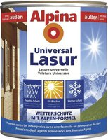 Alpina Farben Universal Holzlasur Walnuss 750 ml