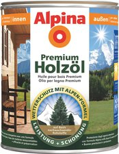 Alpina Farben Premium Holzöl Bankirai 750 ml
