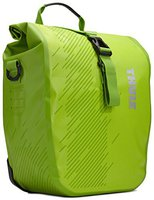 Thule Pack 'n Pedal Shield Pannier S chartreuse