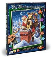 Schipper Malen nach Zahlen Weihnachtsmann Schornstein