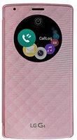 LG G4 Quick Circle Flip Case QI rosa