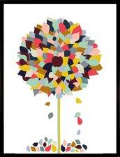 "Home Affaire gerahmter Kunstdruck  ""Appletree "" (33x43cm)"