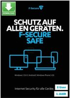 F-Secure SAFE Internet Security (2 Geräte) (1 Jahr)