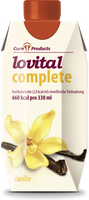 CuraProducts Lovital complete Trinknahrung Vanille Geschmack (12 x 330 ml)