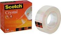 Scotch Crystal Clear 600 10m x 19mm