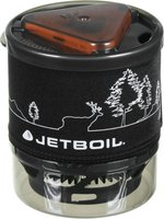 Jetboil MiniMo Carbon with Line Art (schwarz)