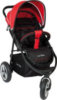 Fillikid Jogger Urban Air Schwarz/Rot