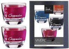 Eisch Vivere Cappuccinoglas 240ml pink