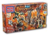 Mega Bloks Fire & Ice Dragons - Portal des Feuers (9889)