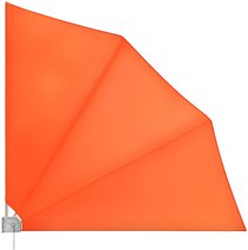Deuba24 Balkonfächer 140 x 140 cm orange
