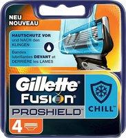 Gillette Fusion ProShield Chill Systemklingen (4 Stk.)