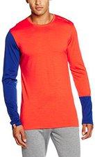 Ortovox Long Sleeve 185 Merino Rock'n'Wool Men crazy orange