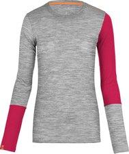 Ortovox Long Sleeve 185 Merino Rock'n'Wool Women grey blend