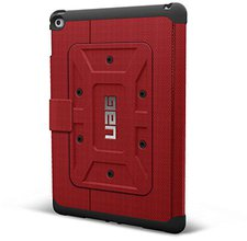 Urban Armor Gear Folio Case iPad Air 2 rot (UAG-IPDAIR2-RED-VP)