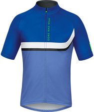 Gore Power Trail Jersey blizzard blue / brilliant blue