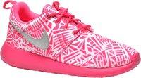 Nike Roshe One Print GS white/metallic silver/pink