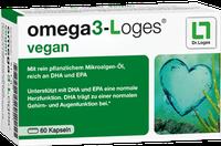Dr. Loges Omega 3-Loges vegan Kapseln (60 Stk.)