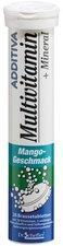 Scheffler ADDITIVA Multivitamin + Mineral Mango R Brausetabletten (20 Stk.)