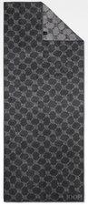 Joop Cornflower Saunatuch silber (80 x 200 cm)
