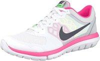 Nike Flex Run 2015 Women pure platinum/voltage green/hyper pink/metallic hematite