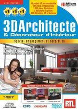 Micro Application 3D Architecte et décorateur d'intérieur (FR) (Win)