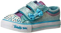Skechers Shuffles Bow Buddies silver/hot pink