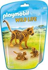 Playmobil Wild Life - Leopard mit Babys (6940)