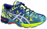 Asics Gel-Noosa Tri 11 GS flash yellow/white/scuba blue