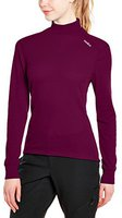 Odlo Shirt l/s Turtle Neck Warm Women magenta purple