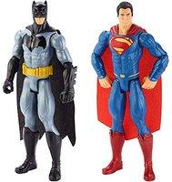 Mattel Batman vs Superman - 2 Figures Pack ( DLN32)