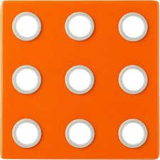 Mepal Rosti Topfuntersetzer Domino orange