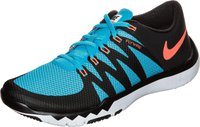 Nike Free Trainer 5.0 Men black/hyper orange/blue lagoon