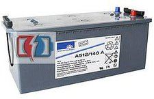 Exide A512/140A Bleiakkus-Gel Dryfit 12V 140Ah