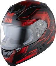 IXS HX 215 Cristal schwarz/rot