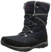 Columbia Wn's Minx Fire Tall Omni-Heat black/dark raspberry