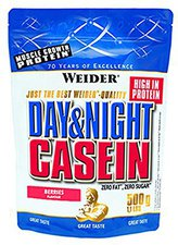 Weider Day & Night Casein (500g) Rote Früchte-Sahne