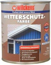 Wilckens Wetterschutz-Farbe taubenblau (5014) 0,75 l