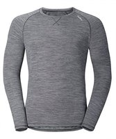 Odlo Revolution Light Long Sleeve Crew Neck Men (110282) grey melange