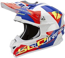 Scorpion VX-15 Evo Air Akra weiß/rot/blau