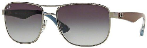 Ray Ban RB3533 004/8G (gunmetal-brown-blue/grey gradient)