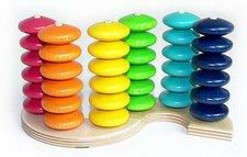 Hess Spielzeug Regenbogen Farbensteckspiel