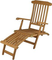 Dilego DIVERO Deckchair Florentine Steamer Chair (GL05151)