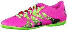 Adidas X15.4 IN shock pink/solar green/core black