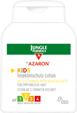 Omega Pharma Jungle Formula by Azaron KIDS Lotion (125 ml)