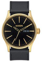 Nixon The Sentry Leather gold/black (A105-513)