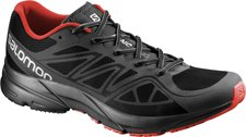 Salomon Sonic Aero M black/autobahn/radiant red