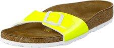 Birkenstock Madrid Birko-Flor neon yellow lack