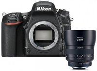 Nikon D750 Kit 50 mm Zeiss Milvus