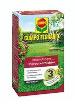 Compo Floranid Rasendünger plus Unkrautvernichter 3kg